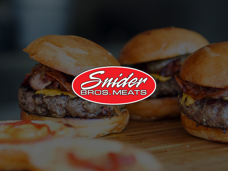 Web design project - Snider Brothers Meats
